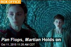 Pan Flops, Martian Holds on