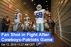 Fan Shot in Fight After Cowboys-Patriots Game