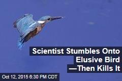 Scientist Stumbles Onto Elusive Bird —Then Kills It