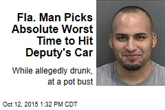 Fla. Man Picks Absolute Worst Time to Hit Deputy's Car
