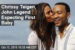 Chrissy Teigen, John Legend Expecting First Baby