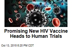 Promising New HIV Vaccine Heads to Human Trials