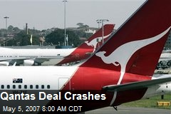 Qantas Deal Crashes