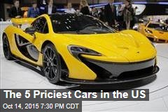 The 5 Priciest Cars in the US