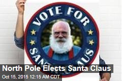 North Pole Elects Santa Claus
