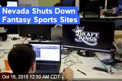 Nevada Shuts Down Fantasy Sports Sites