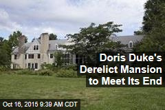 Doris Duke's Derelict Mansion to Meet Its End
