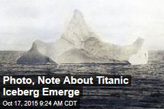 Iceberg Evidence in Titanic Sinking Is Up for Auction