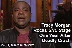 Tracy Morgan Rocks SNL Stage One Year After Deadly Crash