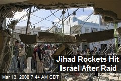 Jihad Rockets Hit Israel After Raid