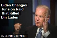 Biden Changes Tune on Raid That Killed Bin Laden