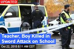 1 Dead, Several Injured in Sword Attack on School