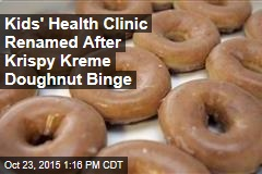 Kids' Health Clinic Renamed After Krispy Kreme Doughnut Binge