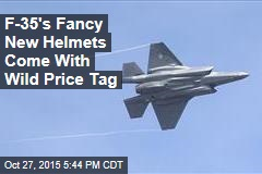 F-35's Fancy New Helmets Come With Big Price Tag