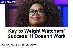 Key to Weight Watchers' Success: It Doesn't Work