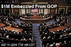 $1M Embezzled From GOP