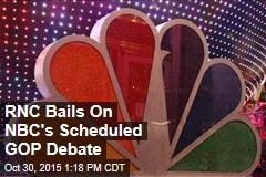 RNC Bails On NBC's Scheduled GOP Debate