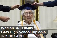Woman, 97, Finally Gets High School Diploma