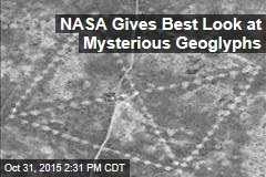 NASA Gives Best Look at Mysterious Geoglyphs