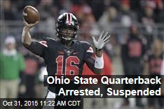 Ohio State Quarterback Arrested, Suspended