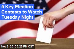 5 Key Election Contests to Watch Tuesday Night