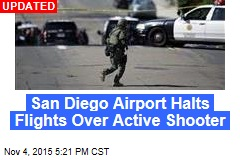 San Diego Airport Halts Flights Over Active Shooter