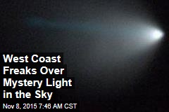 West Coast Freaks Over Mystery Light in Sky
