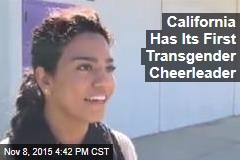 Transgender Cheerleader Speaks Out: 'It Was Tough'