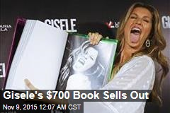 Gisele's $700 Book Sells Out