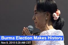 Burma Election Makes History