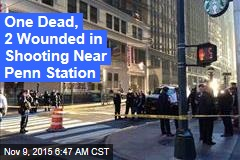One Dead, 2 Wounded in Shooting Near Penn Station