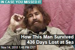 How This Man Survived 436 Days Lost at Sea