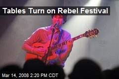 Tables Turn on Rebel Festival