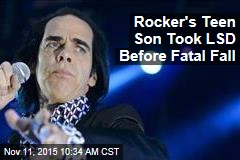 Rocker's Teen Son Took LSD Before Fatal Fall