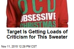 Target Is Getting Loads of Criticism for This Sweater
