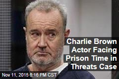 Charlie Brown Actor Facing Prison Time in Threats Case
