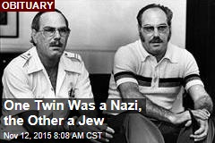 One Twin Was a Nazi, the Other a Jew