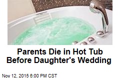 Parents Found Dead in Hot Tub at Daughter's Wedding