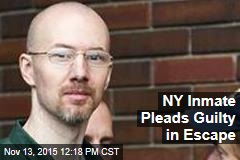 NY Inmate Pleads Guilty in Escape