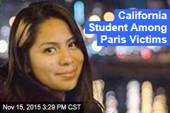 US Student Among Victims of Paris Attack