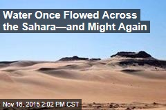 Water Once Flowed Across the Sahara—and Might Again