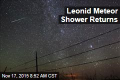 Leonid Meteor Shower Returns