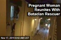 Pregnant Woman Reunites With Bataclan Rescuer