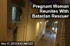 Pregnant Woman Reunites With Bataclan Rescuer