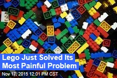 Lego Just Solved Its Most Painful Problem