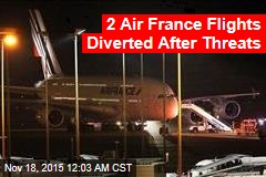2 Air France Flights Diverted After Threats
