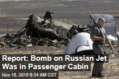 Report: Bomb on Russian Jet Was in Passenger Cabin