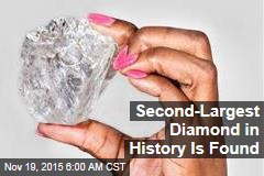 Second-Largest Diamond in History Is Found