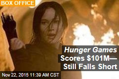 Hunger Games Scores $101M— Still Falls Short