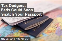 Tax Dodgers: Feds Could Soon Snatch Your Passport